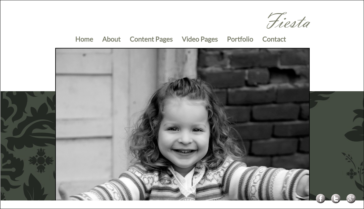Photography Template Fiesta